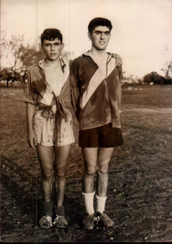 PARTIT DE FUTBOL - 1962