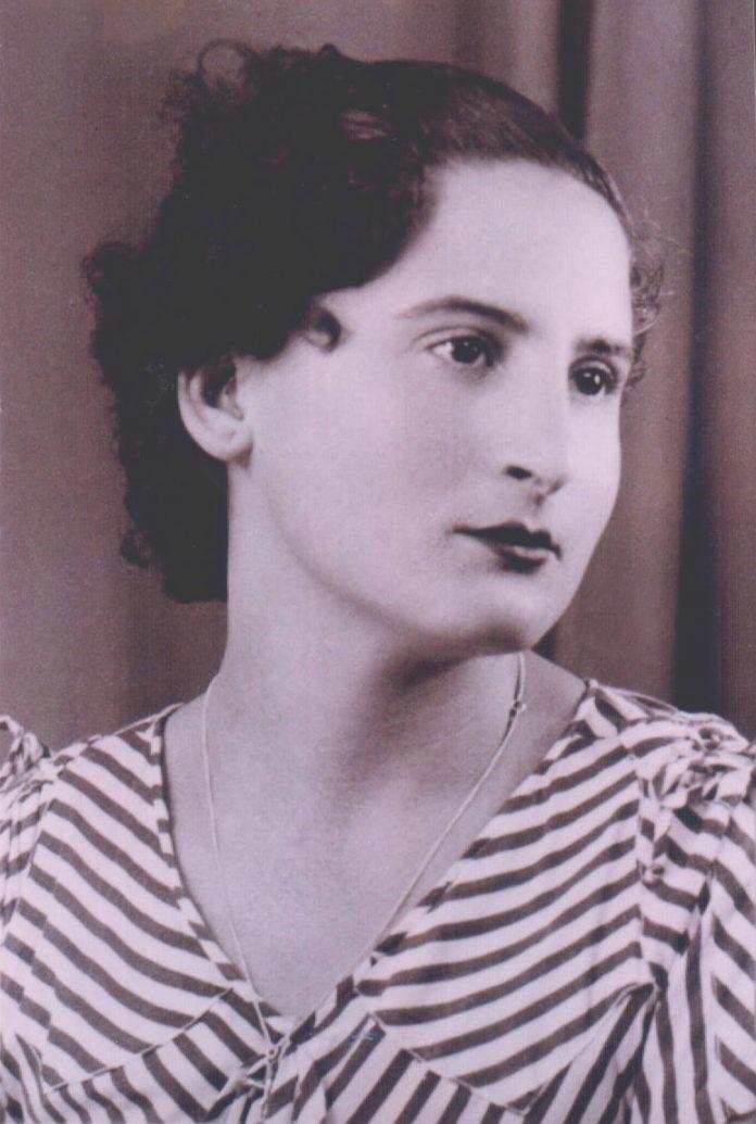 MUJER A RAYAS - 1930
