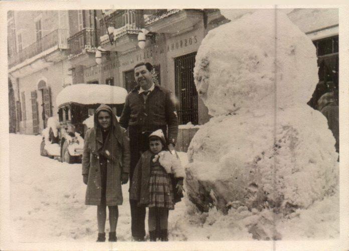 AÑO QUE NEVO EN MALLORCA - 1956