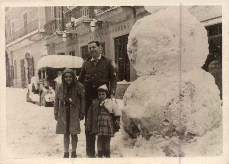 El año que nevó en Mallorca – 1956