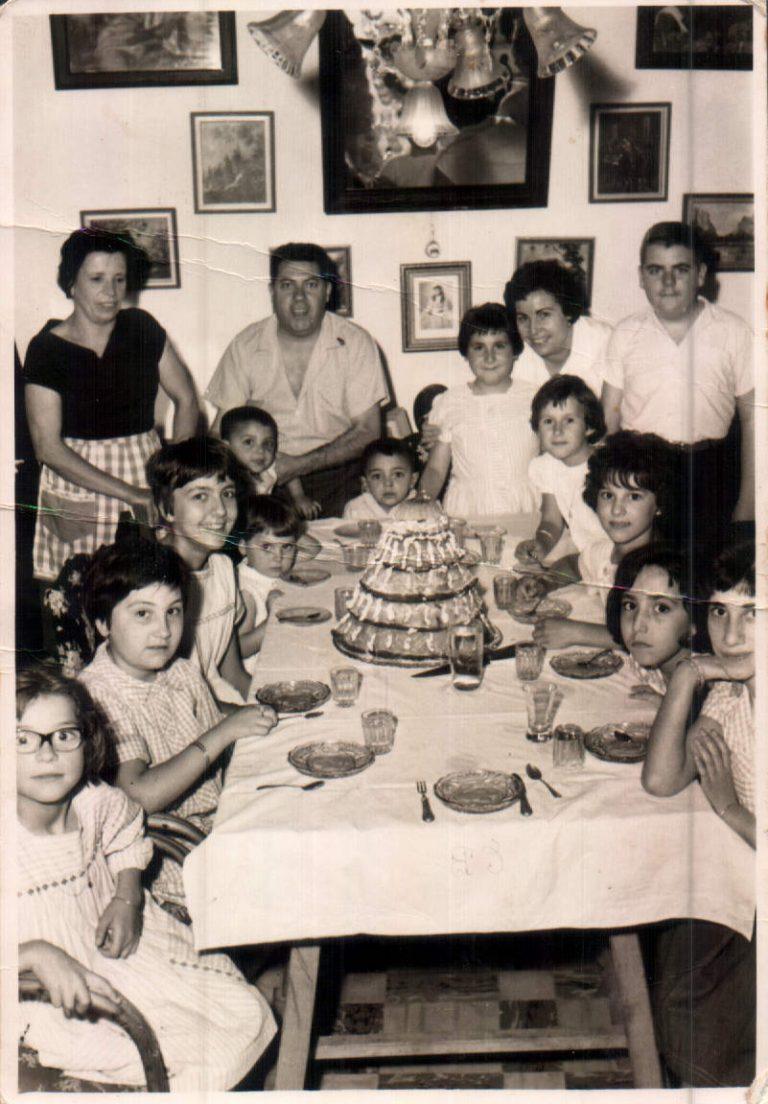 Cumpleaños hija – 1957