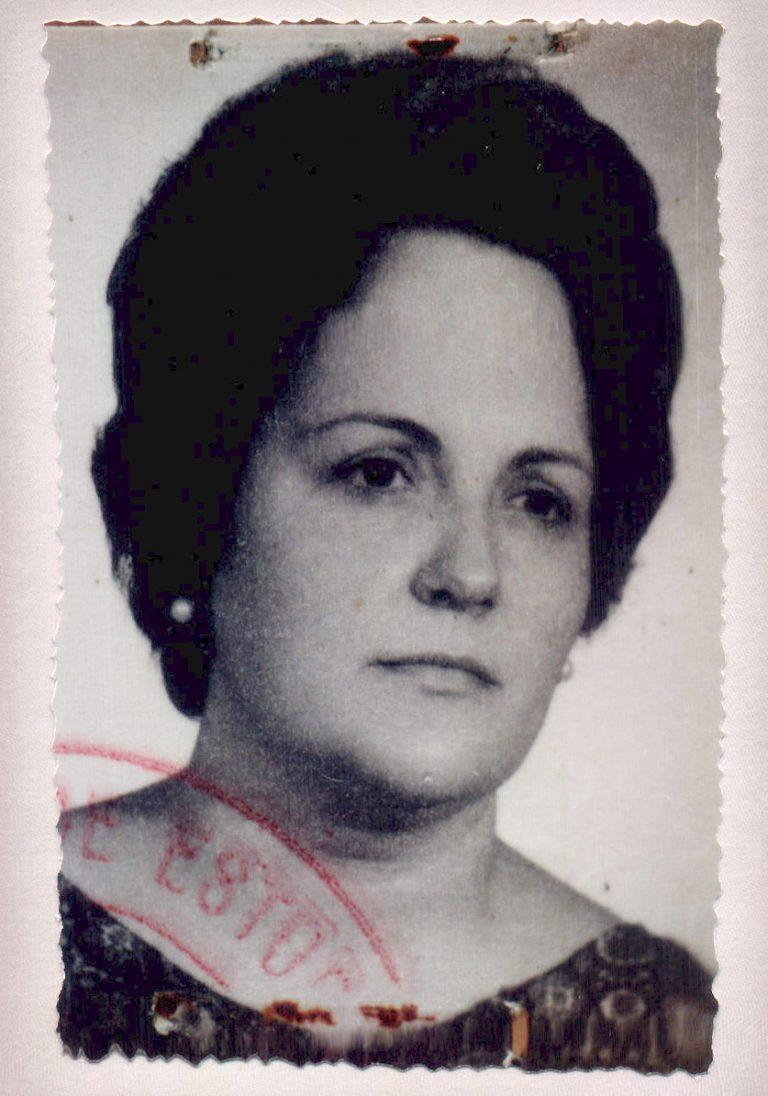 Retrat dona – 1974