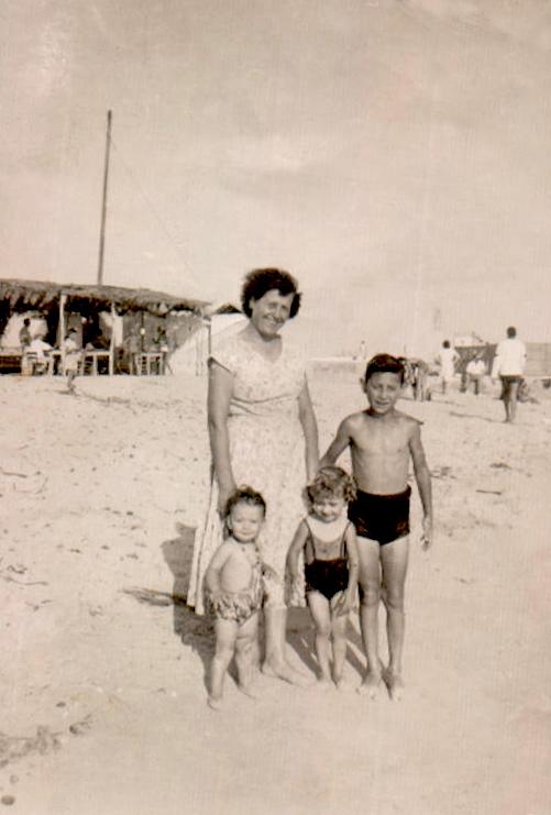 Día de playa – 1957