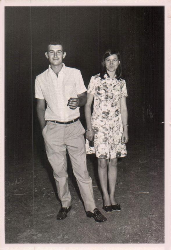 PAREJA NOVIOS - 1960