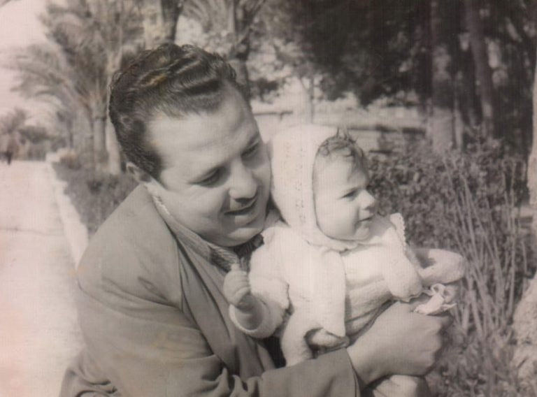 Padre con su hija – 1956