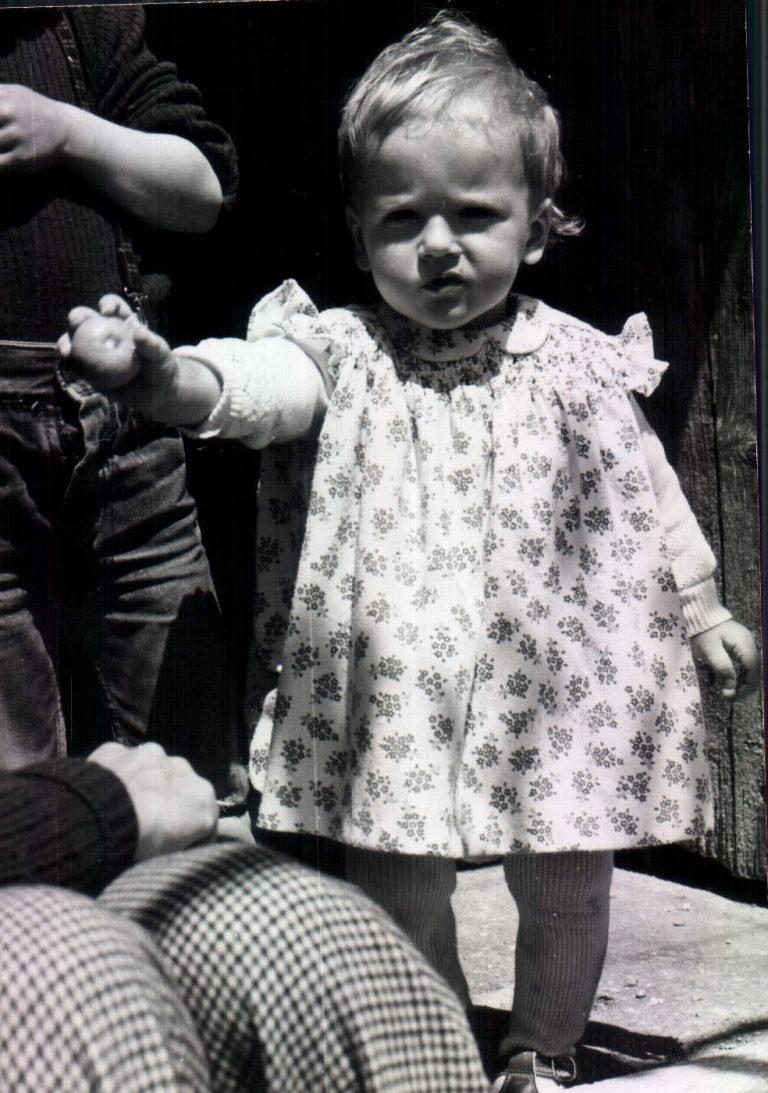 Nina amb mandarina – 1973