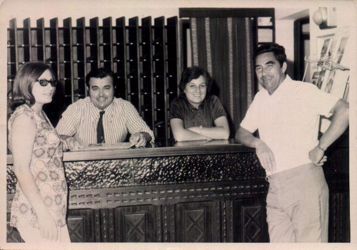 RECEPCION HOTEL CASTELL DE MAR - 1972