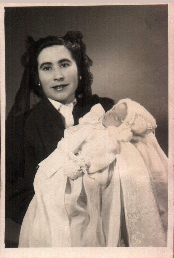 BAUTIZO JAIME PORTELLS RIUTORT - 1955