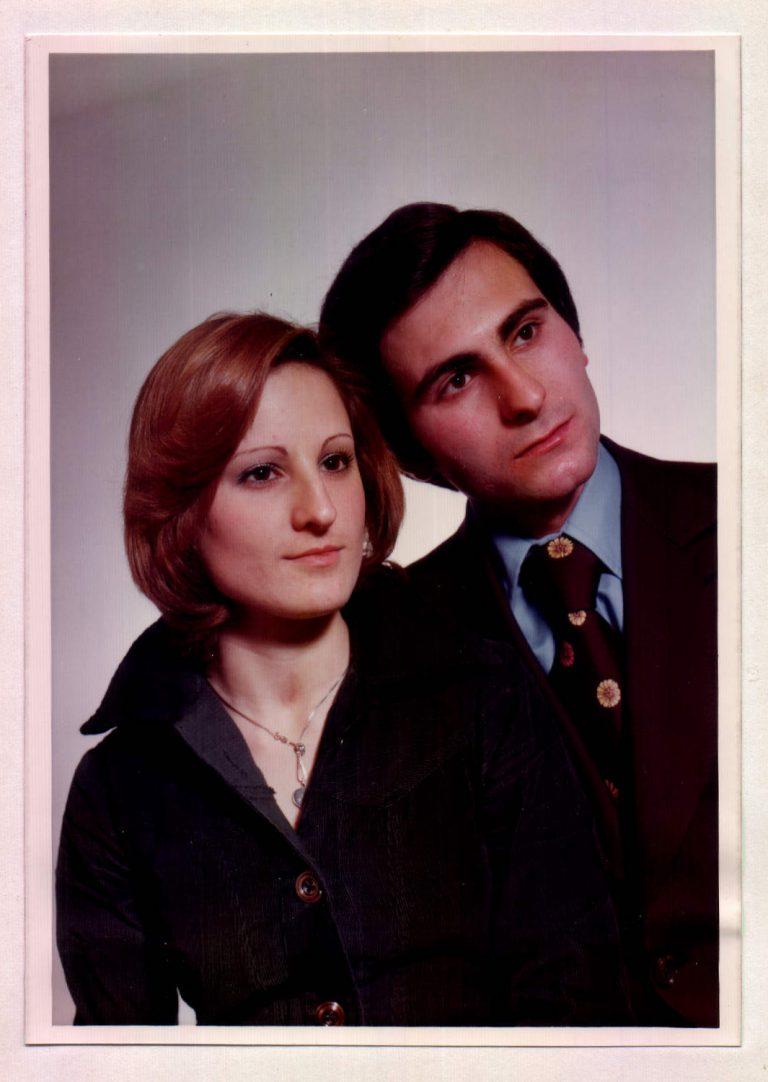 Jaume Portells i M. Carmen Bordoy – 1976