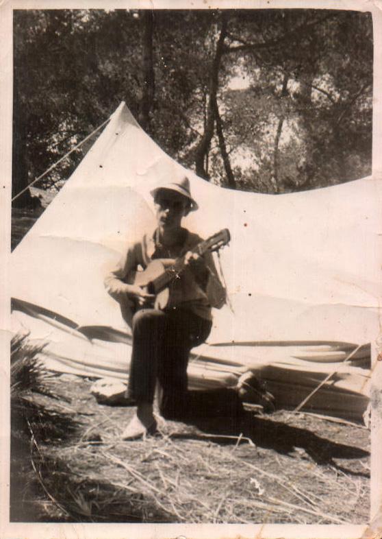 De acampada – 1964