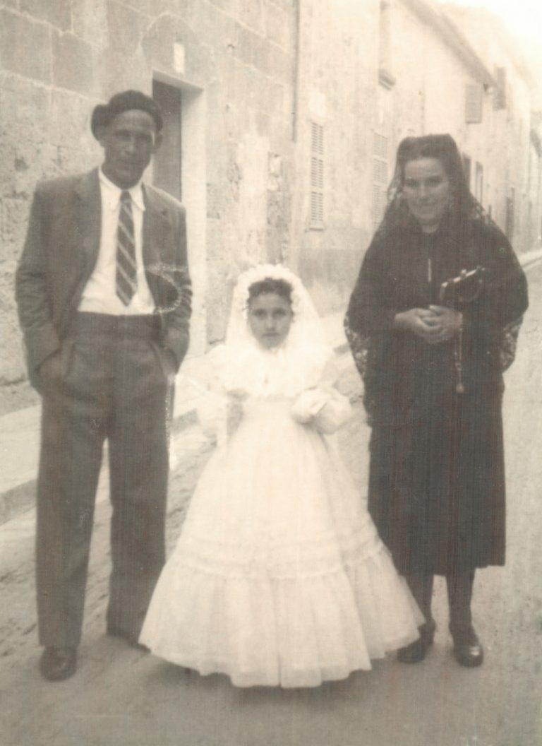 Retrato de comunión – 1942