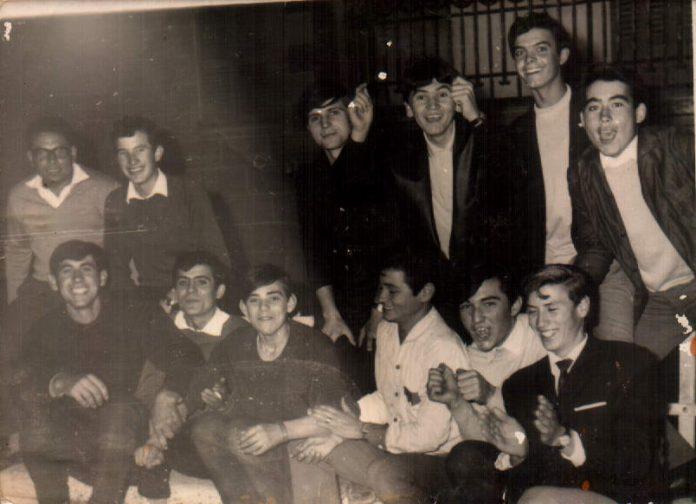 FIESTAS - SALIDA ENTRE AMIGOS - 1961