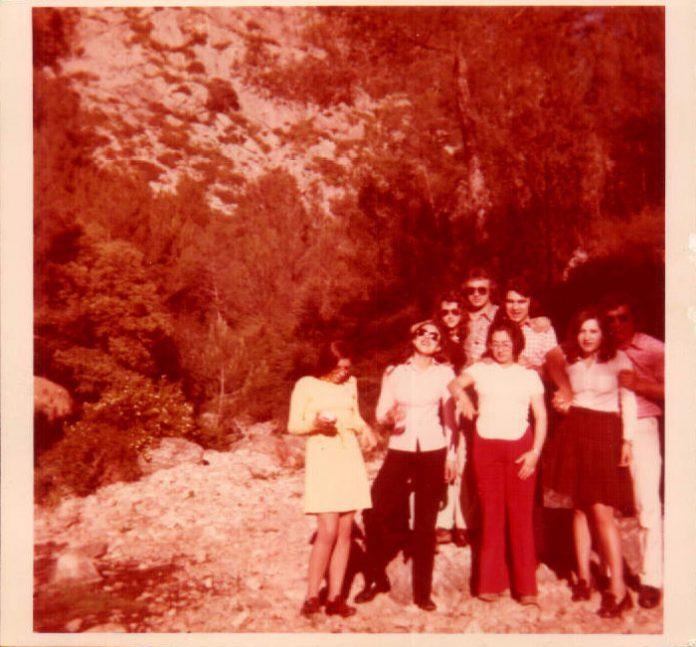 EXCURSION ENTRE AMIGOS A TERNELLAS - 1970