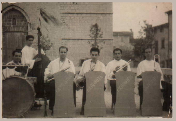 Orquesta en Campanet – 1953