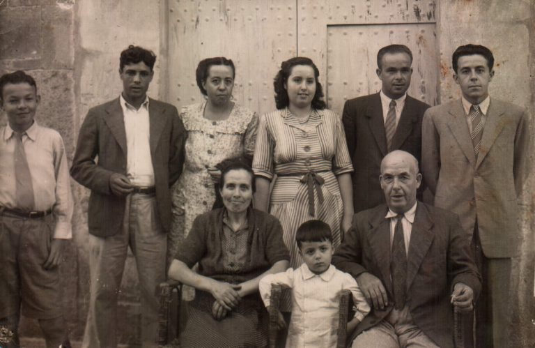 Grupo familiar – 1952