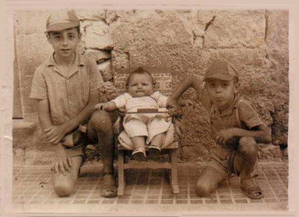 GRUPO HERMANOS Y PRIMOS - 1958