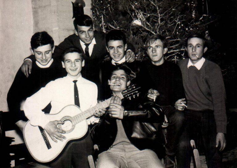 Noche Vieja con amigos– 1965