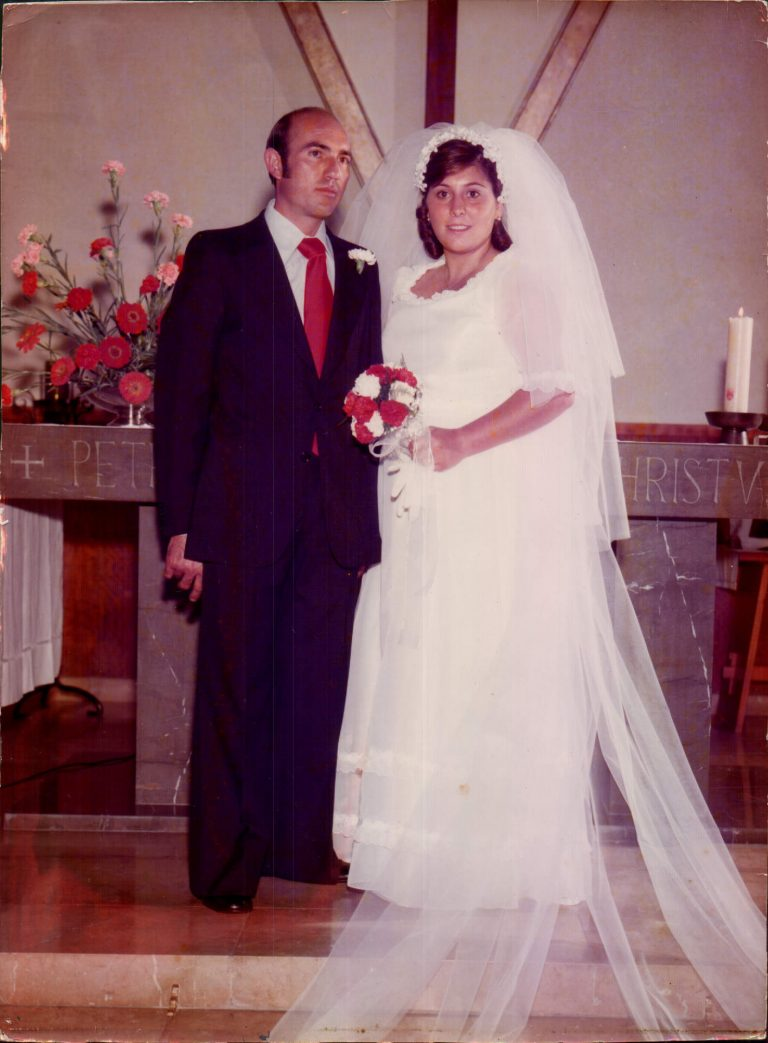 Mi boda – 1976