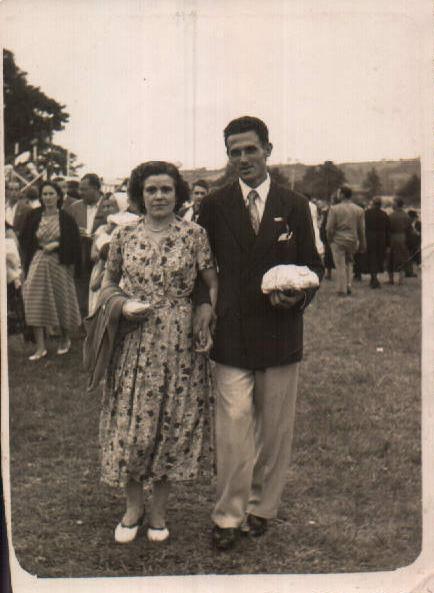 Francesc Vidal i esposa – 1954