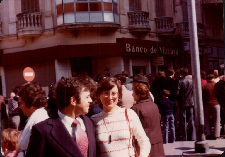 Parella al dia del Corpus– 1979