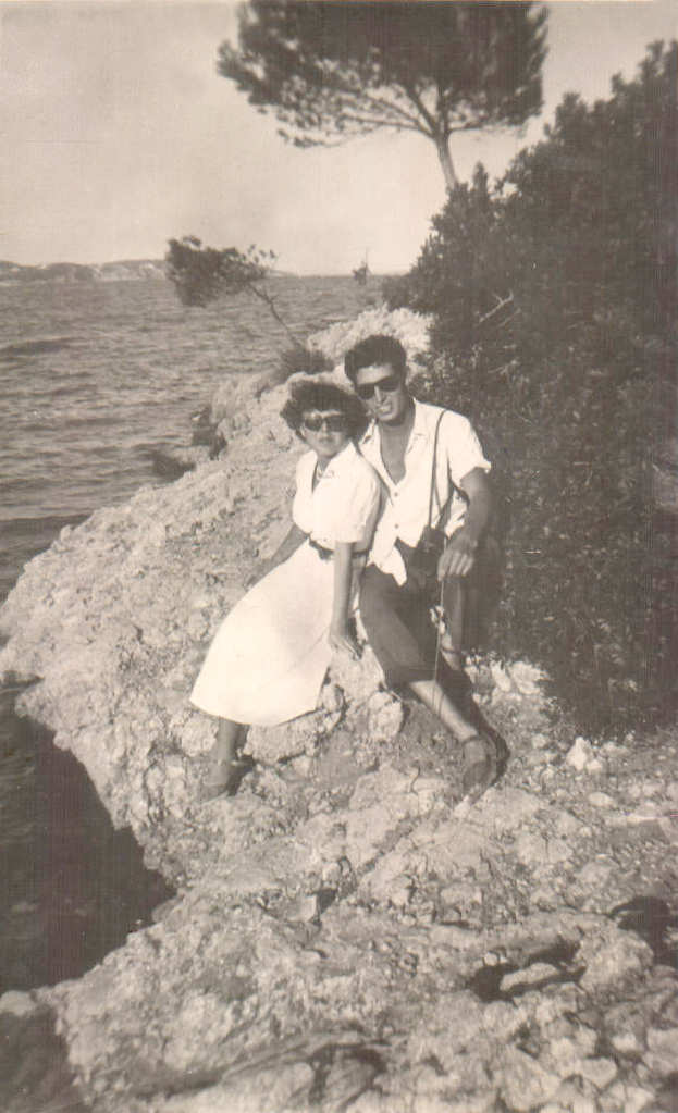 Excursió a la platja (Palma Nova ) 1947