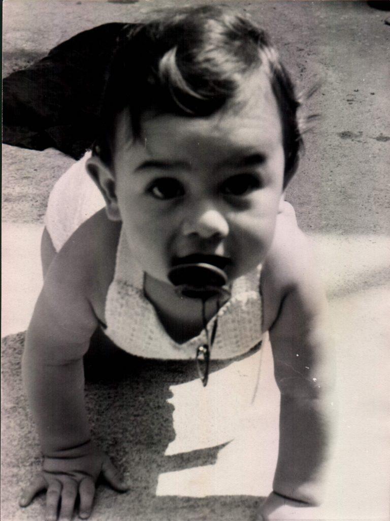 Niño de 9 meses – 1976