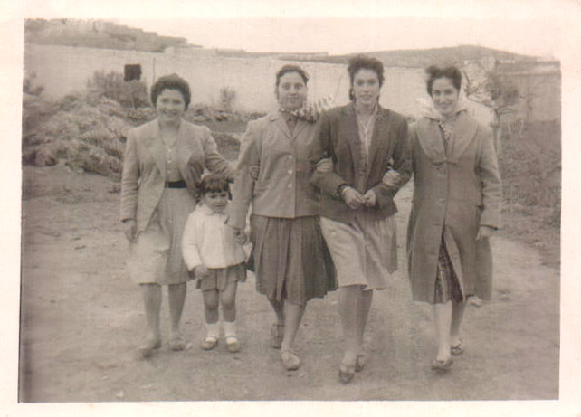 CUATRO HERMANAS Y UNA HIJA - 1963