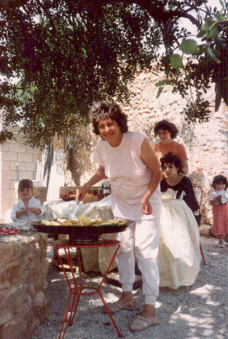 Día de paella – 1980