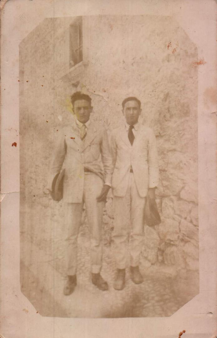 PERSONES - DOS COSINS - 1930