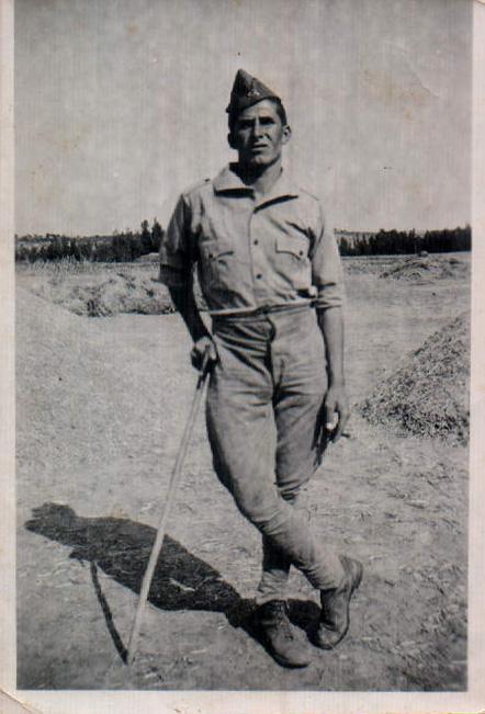 MI TIO - FOTO DE GUERRA - 1936