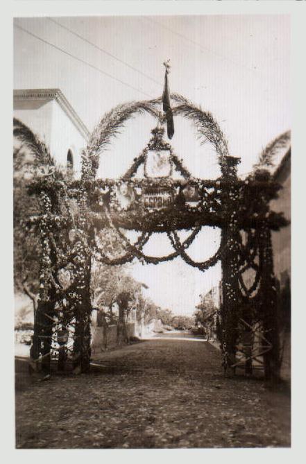 Visita de la Mare de Déu de Lluc a Vilafranca – 1945