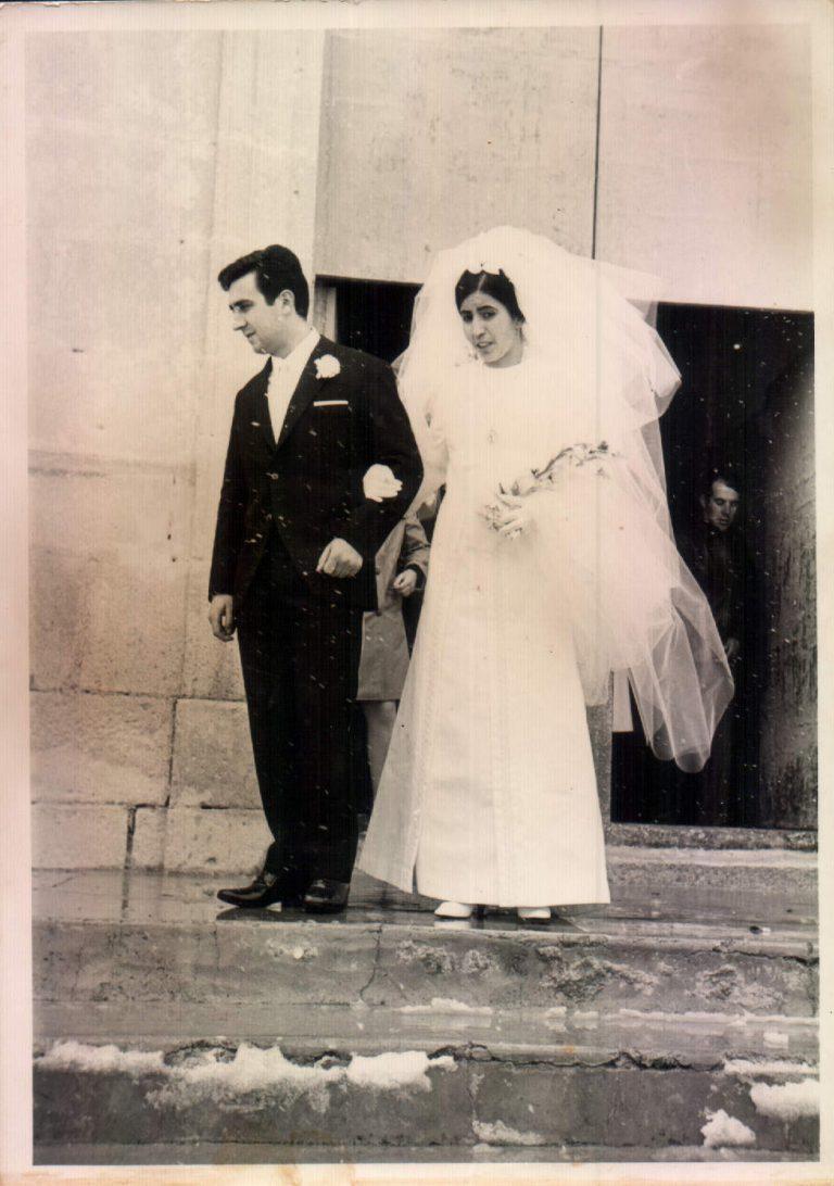 Boda Feliciana y Pep (Fuente-Alamo, Albacete) 1969