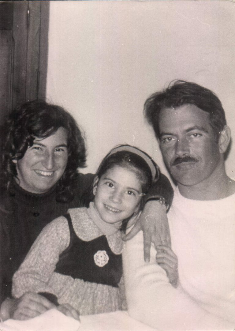 Mis abuelos con mamá (La Vileta) 1977