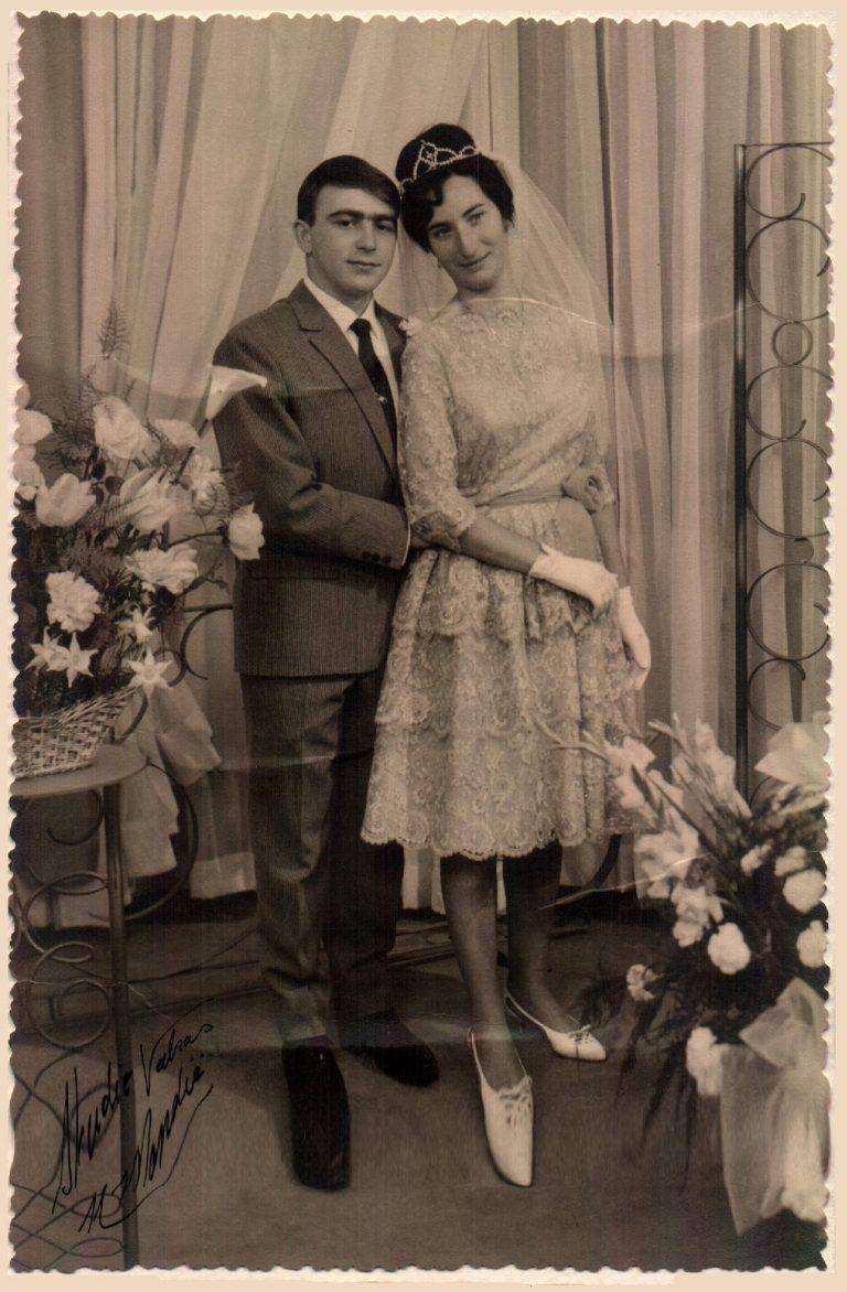 Boda de mis tíos abuelos – 1962