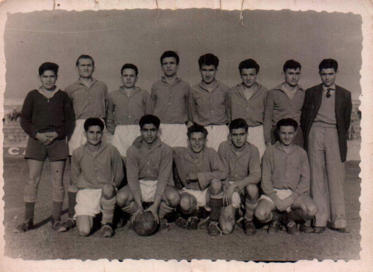 Equipo de fútbol – 1957