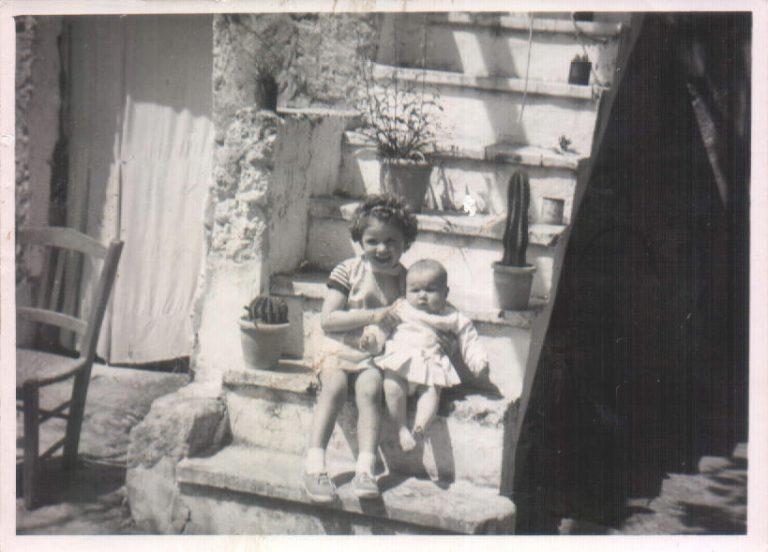 Niña y bebé (Biniatria) 1968