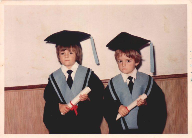 Graduación escolar – 1975
