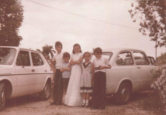 FOTOS FIESTA COMUNION - 1978