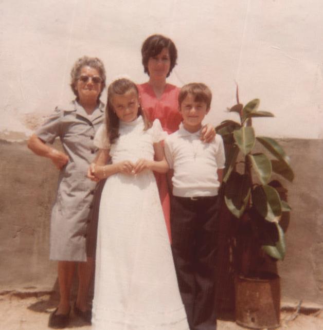 Comunión, foto con amigos – 1978