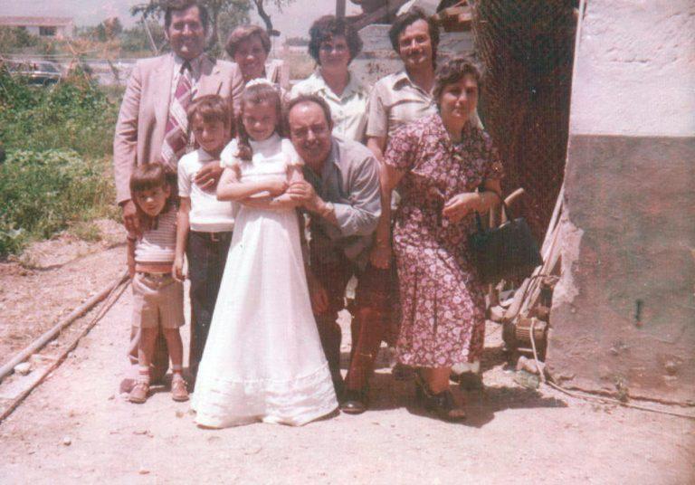 Celebración comunión – 1978