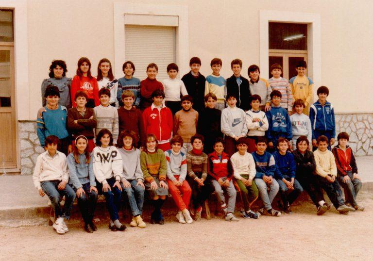 Foto escolar – 1980