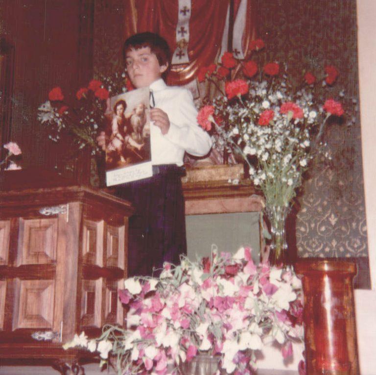 Foto de comunión – 1980