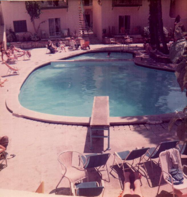 HOTEL PUEBLO PARK - PISCINA - 1979