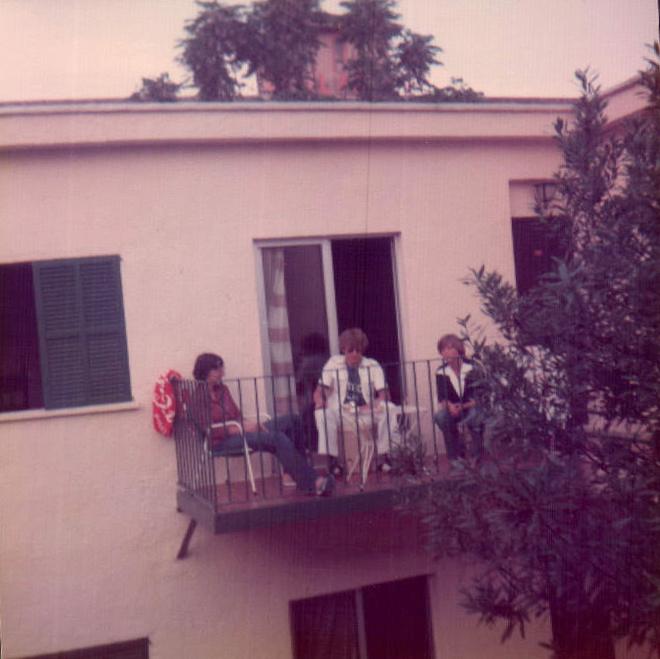 Hotel Pueblo Park, balcón (S'Arenal) 1979