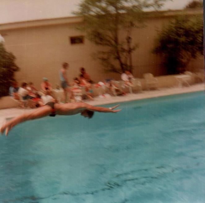 Hotel Pueblo Park, piscina (S'Arenal) 1979