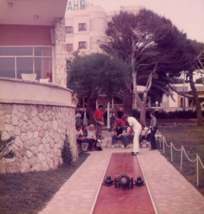 Mini golf (S'Arenal) 1979