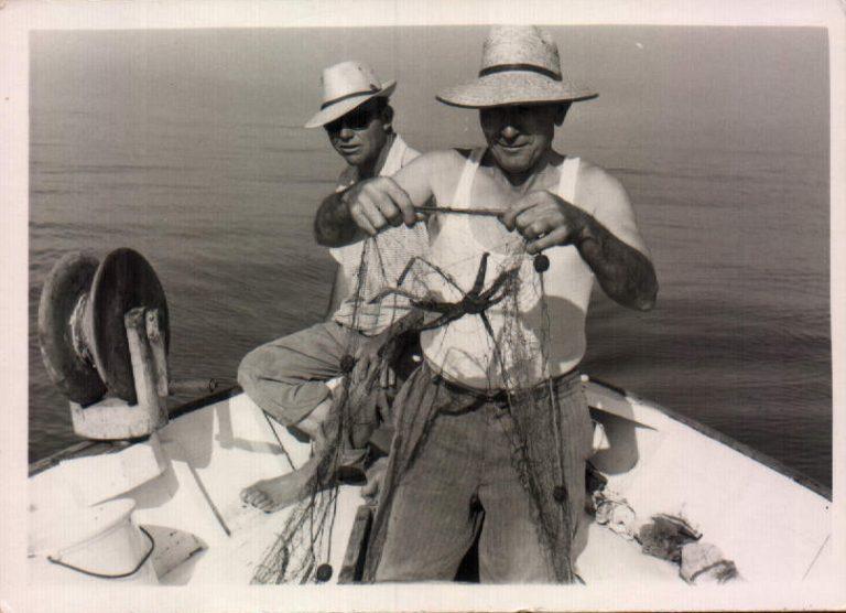 Día de pesca – 1960