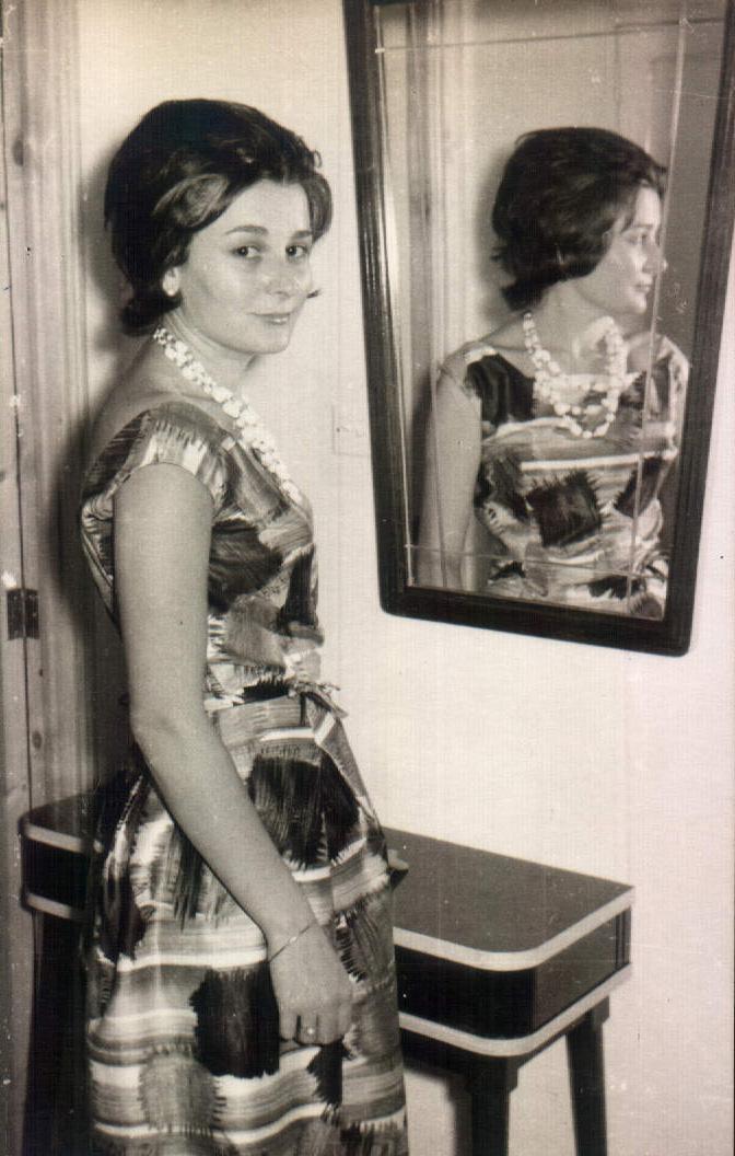 Mujer frente al espejo – 1964