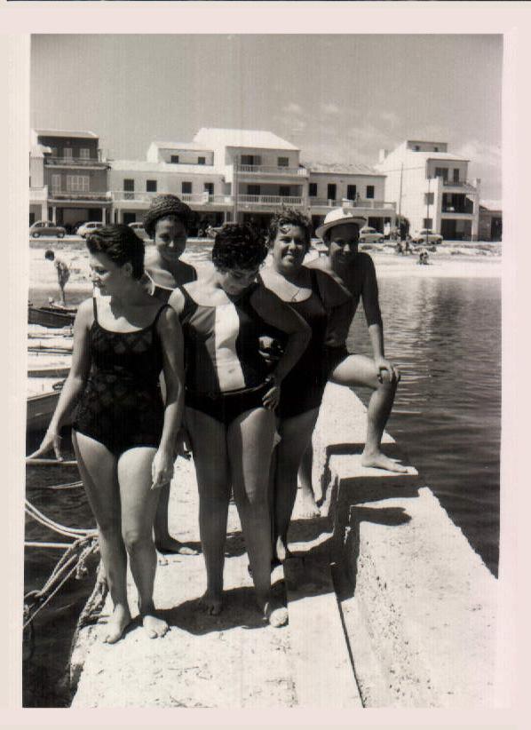 GRUPO AMIGAS - 1958