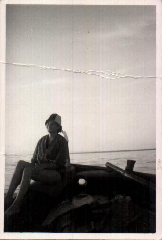 Día de playa – 1960